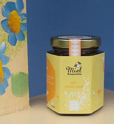 7.5oz Infusion Honey - LEMON (Infusión de Miel con Limón)