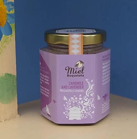 7.5oz Infusion Honey - CAMOMILE and LAVENDER (Manzanilla con Lavanda)