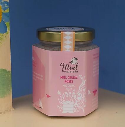 7.5oz Infusion Honey - ROSES (Infusión de Miel con Rosas)