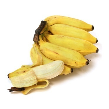 10 Apple-Bananas - Guineo - Banana - Banane (o)