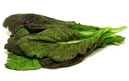 1 Lb Spicy Mustard Greens - Hoja de Mostaza Picante