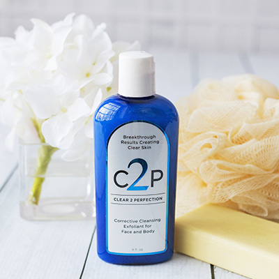 Clear 2 Perfection Corrective Cleansing Exfoliate for Face and Body