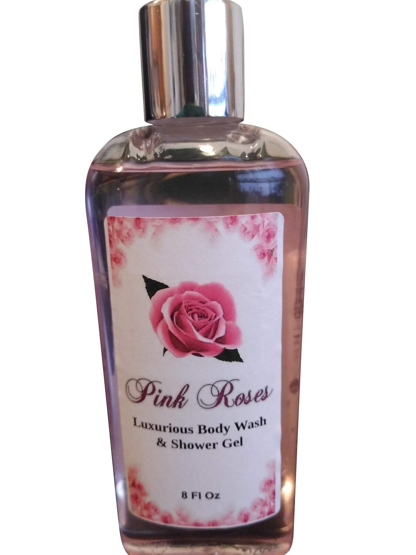 Pink Roses Shower Gel