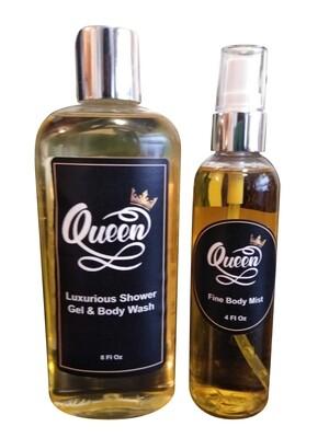 Queen Bath & Body Set