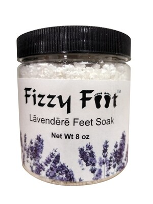 Fizzy Feet Foaming Feet Soak (Lavender)