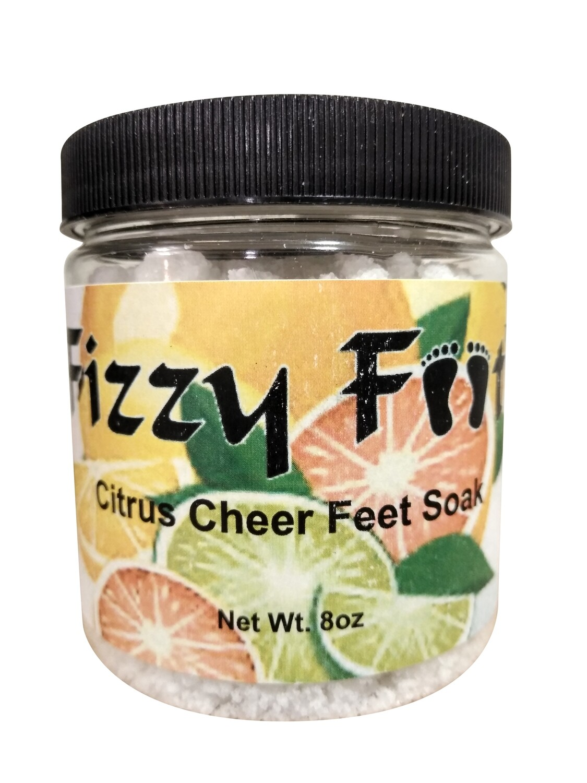 Fizzy Feet Foaming Feet Soak (Citrus Cheer)
