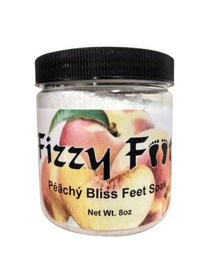 Fizzy Feet Foaming Feet Soak (Peach)