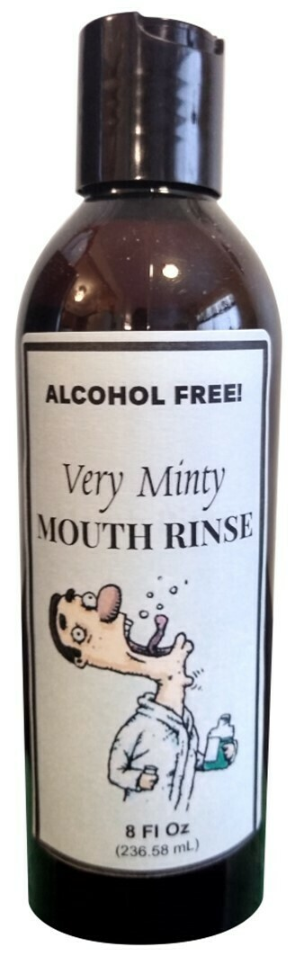Very Minty Mouth Rinse