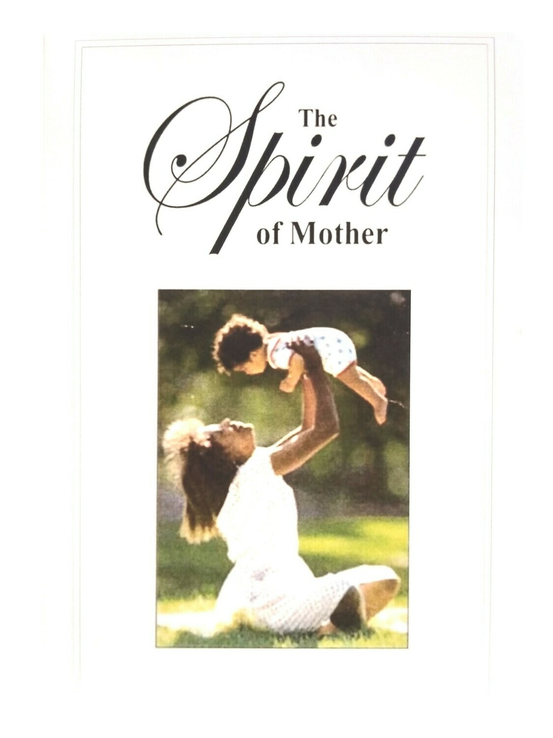 """The Spirit of Mother"" Greeting Card (English)"