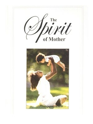 """""""The Spirit of Mother"""" Greeting Card (English)"""