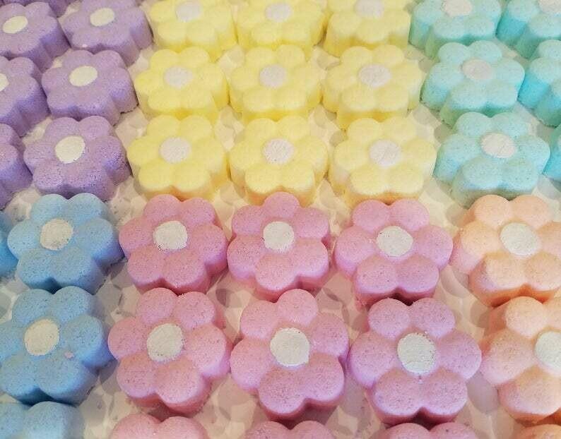 Flower Petal Bath Bombs