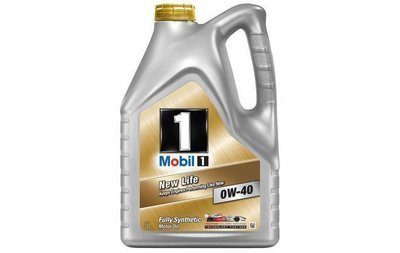 Mobil 1 New Life 0W-40 Fully Synthetic 5L