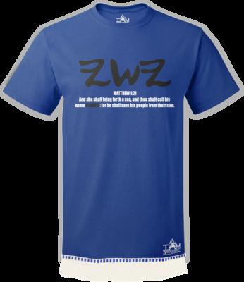 Men's Yashaya Design T-shirt with fringe