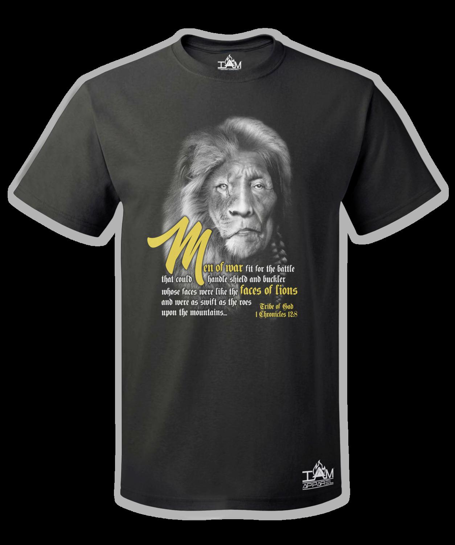 Men's Lion Face of Gad T-Shirt