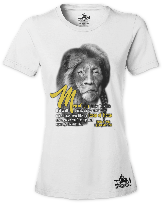 Women's Lion Face of Gad T-Shirt
