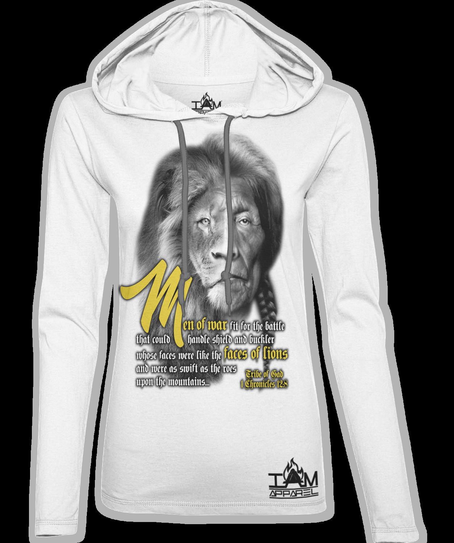 Women's Lion Face of Gad Hoodie