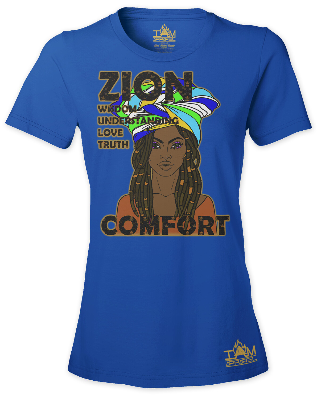 Zion Woman's  Short Sleeved T-shirt