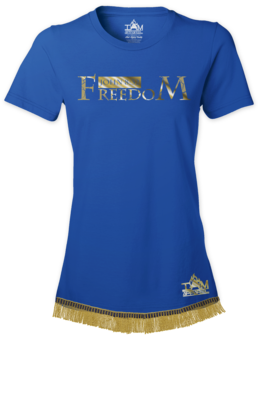Golden Series Women's Freedom T-Shirt With Fringe