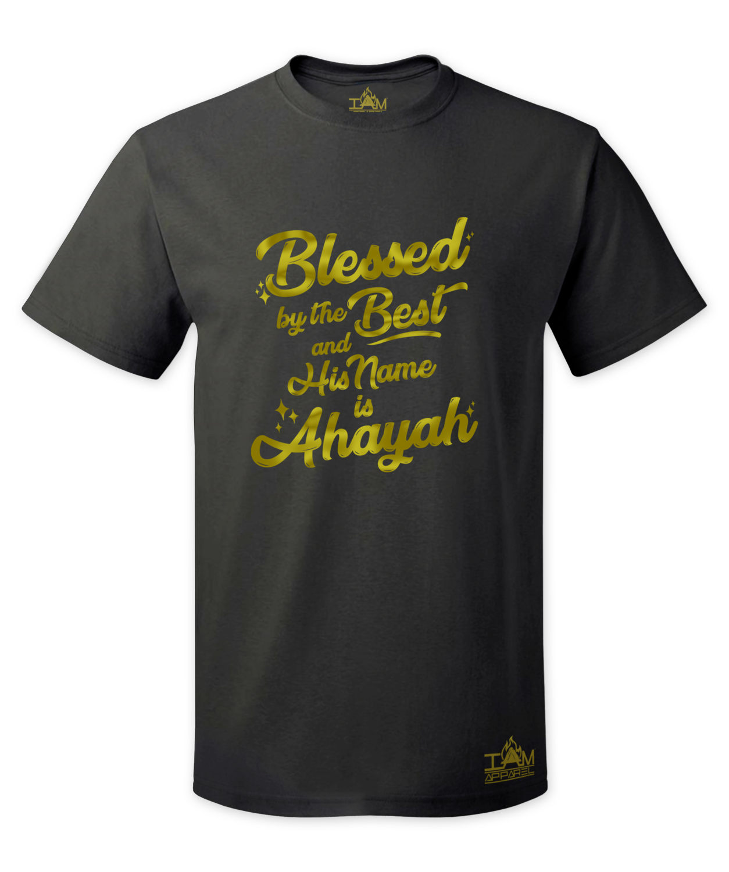 Men's GOLDEN SERIES Blessed by the best Short Sleeved T-shirt