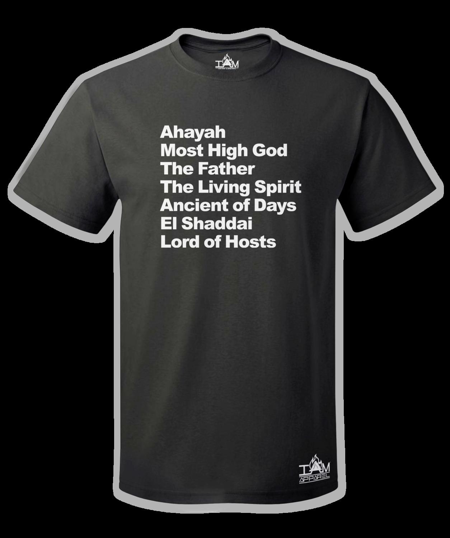 Men's Ahayah Text Short Sleeved T-shirt