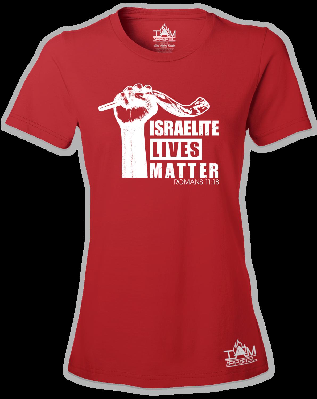 Womens Israelite Lives Matter Short Sleeved T-shirt