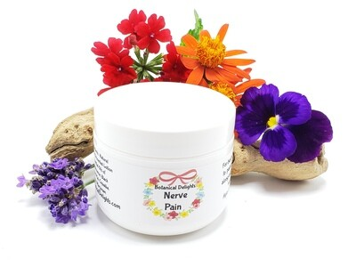NERVE PAIN RELIEF BUTTER - For fast relief of nerve pain, severe pain, fibromyalgia and lupus