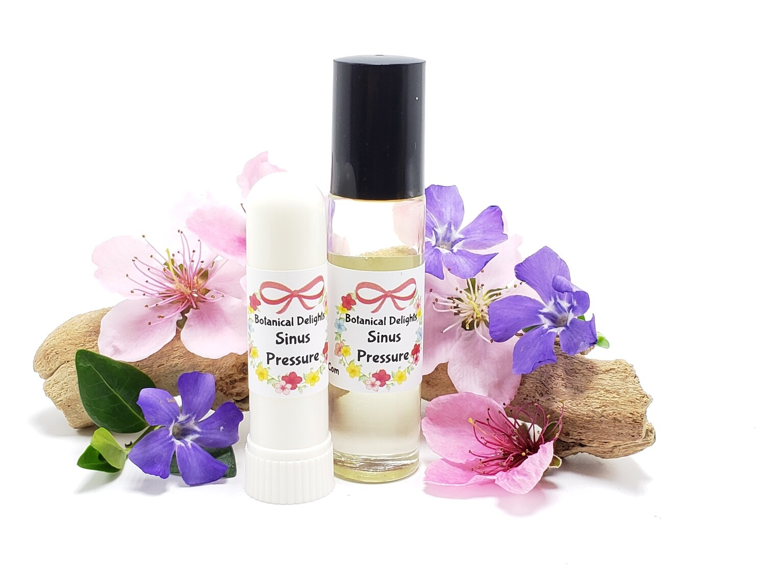 SINUS PRESSURE RELIEF ROLLER - A synergistic blend of essential oils that relieve sinus pressure and sinus headaches