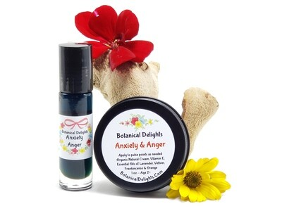 ​ANXIETY Roller & Anger Anxiety Cream Set - Relieve your mind from negative thoughts and refreshes your spirit