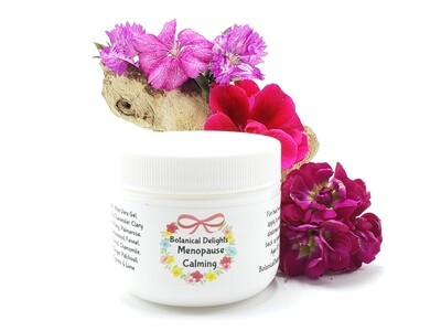 MENOPAUSE CALMING CREAM - a welcome relief for women experiencing  mood swings, hot flashes, cramps, night sweats and insomnia
