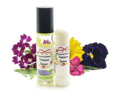 TENSION TAMER ROLLER - A calming synergistic blend of essential oils to help relieve tension and headaches