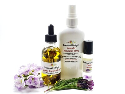 FRENCH LAVENDER Collection - calming with the crisp aroma of French Lavender