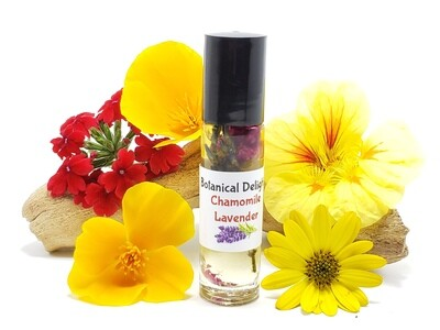 CHAMOMILE Lavender - This blissful blend has a calming that combines the crisp aroma of lavender with chamomiles sweetness