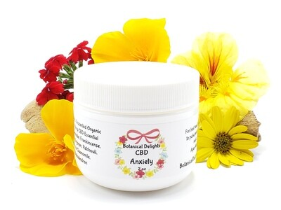 ULTIMATE ANXIETY RELIEF BUTTER - Eases Stress, Anxiety, PTSD, Panic, Fear, deep breath...very calming, takes you down 3 notches!