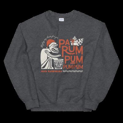 Tiki Room Drummer Boy - Crewneck Sweatshirt Charcoal