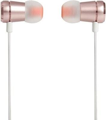 JBL T290 Earphone, Rose Gold