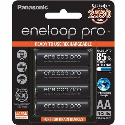 Panasonic Eneloop Pro 2550mAh Rechargeable Battery