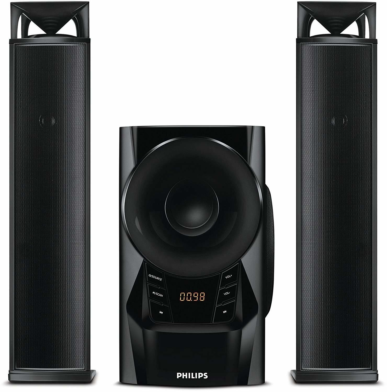 Philips MMS2160B / 94 2.1 채널 컨버터블 멀티미디어 스피커 시스템, Rs.5010