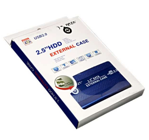 2.5 Inch USB 2.0 Hard Drive External Case