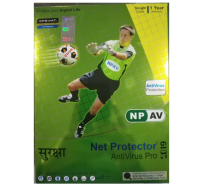 1 User, 1 Year, Net Protector Antivirus Pro