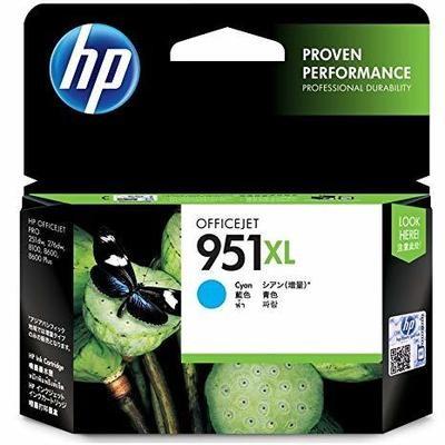 HP 951XL Ink Cartridge, Cyan