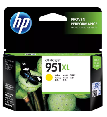 HP 951XL Ink Cartridge, Yellow