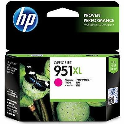HP 951XL Ink Cartridge, Magenta