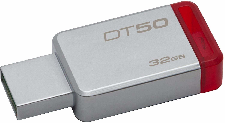 Kingston 32GB Pen Drive, 3.0, DT50, Metal