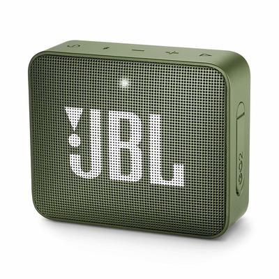 JBL GO 2 Portable Bluetooth Waterproof Speaker, Green
