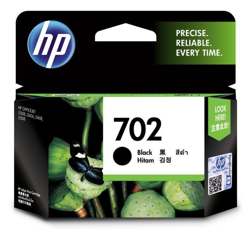 HP 702 Ink Cartridge, Black