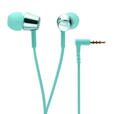 Sony MDR-EX155 in-Ear Headphones, Light Blue