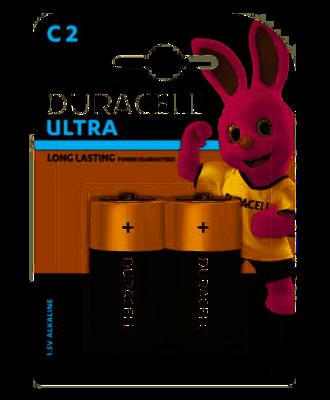 Duracell Ultra C, 2 Batteries