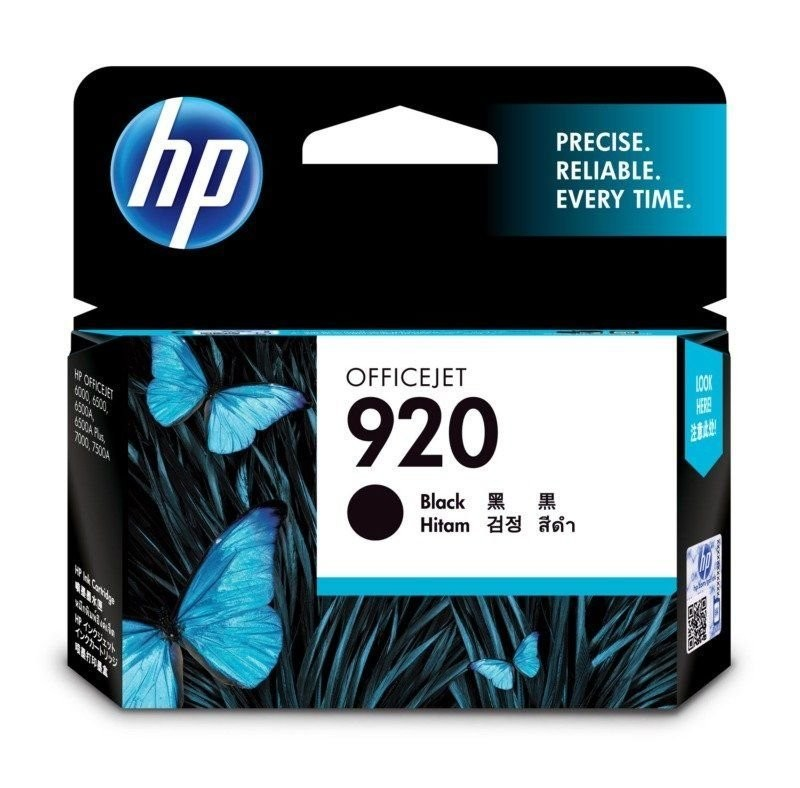 HP 920 Ink Cartridge, Black