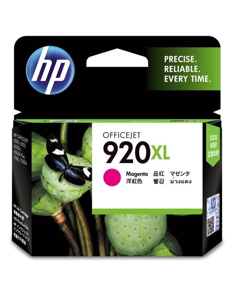 HP 920 XL Ink Cartridge, Magenta, CD973AA
