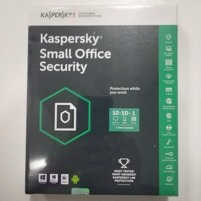 10 PC, 1 Server, 10 Mobile, 1 Year, Kaspersky Small Office Security
